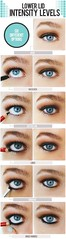 Lower Lid Intensity Levels-6 Options (Nadyana Magazine) Tags: blackpencil