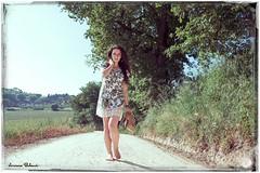 Passeggiando... (Lorenzo Babucci.) Tags: blue summer portrait people bw italy woman white black sexy girl smile look night portraits canon vintage donna model eyes nikon italia foto fiume picture occhi vogue hippie sensuality ritratti ritratto pensieri gabbiano beautifull bellezza intruder ragazza libertà themoon vanityfair lacrime labbra higkey