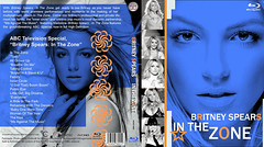 """Capa do Blu-ray Britney Spears """"In The Zone"""" (marcosvlmoraes) Tags: dvd cd britneyspears bluray inthezone"""