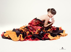 Musita Flamenca (Antoloza ZD) Tags: portrait woman art beauty fashion female pose book sevilla mujer model arte retrato moda makeup style olympus estudio class modelo editorial shooting sesion belleza flamenca elegance musita em1 elegancia posado antolozazd almudenanavarro