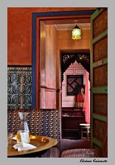 Grande Mosque de Paris (Eleanna Kounoupa) Tags: decorations orientalart  parisfrancehccitymosquemosquegrandemosquedeparishistoricalcenter