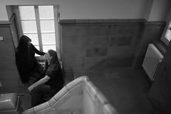 Doreen und Henrik (Fotografie Stefanie Oertel) Tags: winter deutschland fenster familie pregnancy mama pregnant treppe belly sachsen papa krankenhaus doreen henrik januar flur chemnitz babybauch 2015 treppenaufgang drk rabenstein krankenhausflur