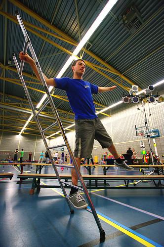 Balancing ladder @ EJF 2014