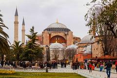 The Glory of Byzantium (Matilda Diamant) Tags: world heritage museum architecture turkey site cathedral glory religion istanbul unesco dome ottoman orthodox sophia turkish hagia byzantium rusalka
