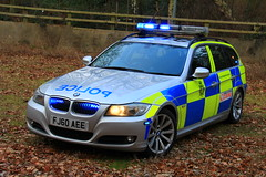 Nottinghamshire Police BMW 330d Touring Roads Policing Unit Traffic Car (PFB-999) Tags: nottingham car estate traffic police headquarters lodge bmw vehicle leds roads hq touring nottinghamshire unit sherwood 3series notts rpu lightbar constabulary policing 330d sidelights fendoffs grulles fj60aee
