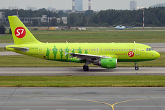 S7 Airlines, VQ-BQW, Airbus A319-115LR (Anna Zvereva) Tags: plane airport aviation airbus boeing spotting dme domodedovo  uudd