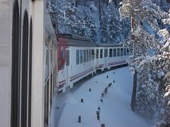 Renfe Cercanias - 442 + 442 subiendo a cotos apartando la nieve (CARLOS123456) Tags: la nieve 442 cercanias renfe subiendo cotos apartando