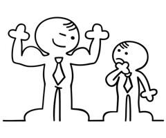 The Tell-Tale Signs Of A Bad Boss (RecruiterMixer - Executive Recruiters) Tags: boss illustration person switzerland comic humor cartoon meeting bank business bse chef lustig mann stark arbeit mitarbeiter firma bro geschft konzept figur mnner abstrakt witzig karriere druck mobbing arbeiter muskeln freundlich schwach strich stehen mnnchen unternehmen erfolg stehend betrieb erfolgreich partnerschaft angestellter rgern konkurrenz belastung schikane mobben geschftspartner unterdrcken unternehmung vorgesetzter