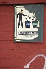 New York Recycling Program (AlainC3) Tags: nyc usa newyork january recycling janvier affiche recyclage 2015