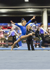 Leap for Joy! (Ollie girl) Tags: smiling laughing happy joy michelle gymnast gymnastics latina leap