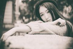 DSCF1658 (@xiaoping) Tags: china girl portraits bokeh fujifilm           xpro1 blackwrite xf35mmf14