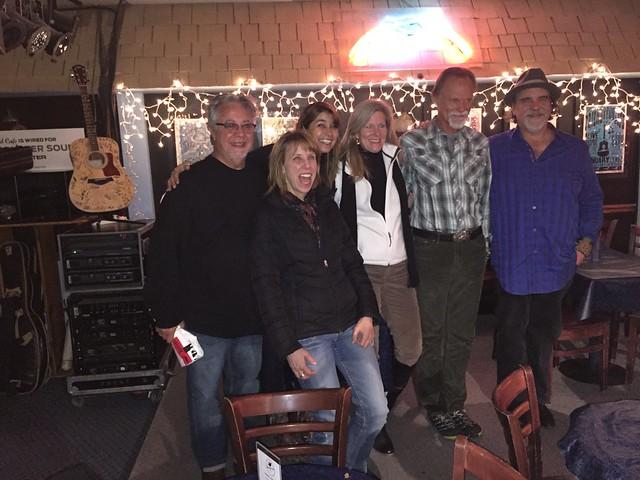 DANNY FLOWERS, JONATHAN EDWARDS, DARRELL SCOTT & ME @ BLUEBIRD CAFE' - NASHVILLE, TN