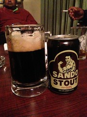 A local stout by Sando!