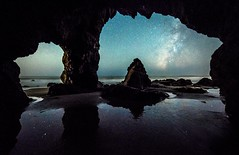 Malibu Sea Cave Starry Night Astrophotography!  Nikon D810 Fine Art Night Milkyway Photography! (45SURF Hero's Odyssey Mythology Landscapes & Godde) Tags: longexposure sea sky art nature night stars photography nikon long exposure skies fineart fine wideangle malibu astrophotography astronomy cave nightsky starry fineartphotography starrynight milkyway naturephotography wideanglelens naturephotos astrograph d810 longexposurephotography fineartphotos longexposurenight milkywaygalaxy 45surf fineartphotographer starphotography nightskyphotography elliotmcgucken astrolandscape elliotmcguckenfineartphotography elliotmcguckenphotography drelliotmcgucken elliotmcguckenfineart herosodysseymythology masterfineartphotography astrolandscapephogtography goldenheosodyssey starrynightastrophotographynikond810fineartnightphotographymilkywayrisinglongexposureastrophotographyiusedtoteachastronomy sothiswasfunnightphotography