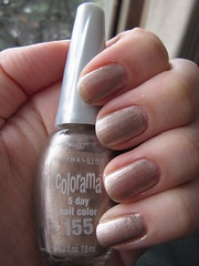 Maybelline Colorama 155 Touch of Taupe (AlliMcBally) Tags: nailpolish maybelline colorama