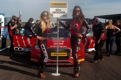 BTCC Weekend at Thruxton, May 2016 (MarkHaggan) Tags: car race track weekend vehicle circuit motorracing motorsport btcc gridgirls thruxton 2016 gridgirl touringcars britishtouringcarchampionship btcc2016 08may2016