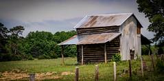 Blacksmith Road Log Barn (Bob G. Bell) Tags: barn virginia fujifilm logbarn bobbell xpro1 pittsylvania