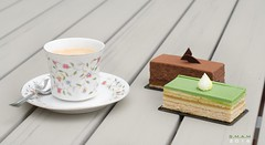 Afternoon Tea (SM-A-MS) Tags: tea coffee france paris dessert cake le flour