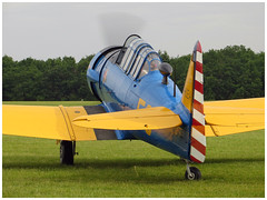 North American T-6G Texan C/N 168-160 (Aerofossile2012) Tags: aircraft harvard airshow trainer avion texan t6g snj 2014 northamerican cerny toratoratora ferté