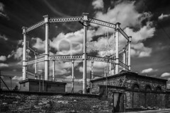 Macclesfield Gasometer (Oliver Wood Photography) Tags: cheshire gasometer macclesfield gasholder