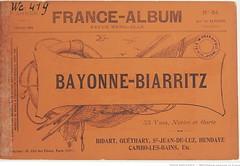 Fasc. 64. Bayonne-Biarritz, Bidart, Guthary, St.-Jean-de-Luz, Hendaye, Cambo-les-Bains, etc (Library ABB 2013) Tags: france album bnf franais nationallibraryoffrance bibliothquenationaledefrance 1890
