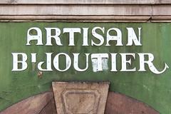 ARTISAN BIJOUTIER (typetrash) Tags: wall handwriting typography strasbourg type 3dletter typetrash