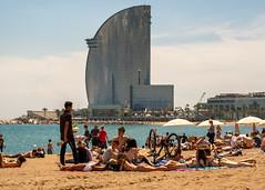 beach life-2 (dACE :)) Tags: barcelona people espaa architecture spain arquitectura gente bcn catalonia barceloneta mojito catalunya gent catalua whotel platja espanya hotelvela