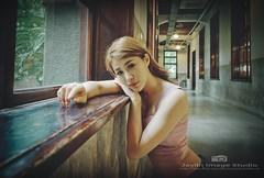 jaylin-0277 ( Jaylin) Tags: portrait girl beautiful studio outside model women factory image longhair taiwan olympus oldhouse lonely taipei mirco tobacco lilian omd matsuyama jaylin m43 mzd jelin linjay
