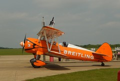 Ready for the Off (steevosmith21) Tags: wing boeing walkers sywell staerman breightling