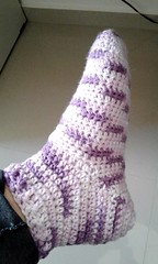 Socks that fit! (aelita-sk) Tags: socks crochet meias receita croch mollet