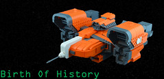 Birth Of History (ottoblees) Tags: lego space destiny