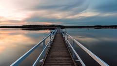 Abendstimmung am See (webpinsel) Tags: abendstimmung halternamsee landschaft natur sommer sonnenuntergang