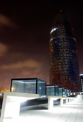 Flicr52015.jpg (Tricfala Photo) Tags: barcelona night noche arquitectura edificios agbar