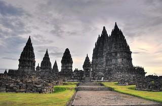prambanan - java - indonesie 19