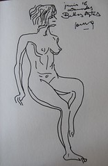 Crculo de Bellas Artes (GimBo AkimBo) Tags: pintura drawing sketch print texture crculodebellasartes circulodebellasartes figuredrawing femalefigure nude cartoon cba madrid crculo artes crculodebellasartesmadrid mujer woman
