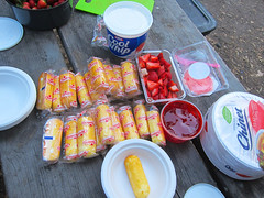 2016_0521_005 (seannarae) Tags: ca camping may twinkie strawberryshortcake 2016 coolwhip s95 lakelopez