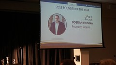 "Congratulations to Bogdan Frusina of Dejero for winning Founder of the Year! • <a style=""font-size:0.8em;"" href=""https://www.flickr.com/photos/124986169@N08/27246878994/"" target=""_blank"">View on Flickr</a>"