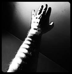 Day 1618 - Day 158: Arm's length (knoopie) Tags: armslength concorde arm hand 2016 june iphone picturemail doug knoop knoopie me selfportrait 366days 366daysyear5 year5 365more day1618 day158 blackandwhite