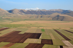 Cultivating the Piano Grande (Atilla2008) Tags: umbria italy pianogrande marche rural nikon d90 cultivation wow awesome