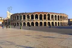 The Arena in Verona (annalisabianchetti) Tags: urban italy history architecture roman amphitheatre cityscapes arena verona anfiteatro