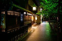 Kiyamachi Street () at Night in Kyoto () Japan (TOTORORO.RORO) Tags: street people love night zeiss river walking spring kyoto dramatic lifestyle retro e riverbed carl biking   nightlife kamo kamogawa activities cusine  sonnar takasegawa kiyamachi      sel24f18z sonnart1824 sonnarte1824