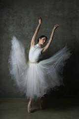 graceful ballerina 1 (dannyjackie) Tags: ballet woman white dance ballerina graceful tutu