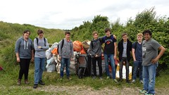 20160624_131637 (Keep Wales Tidy) Tags: bridge summer up coast marine severn clean litter learning monmouth welsh care baccalaureate caldicot rogiet welshcoastalpathcleanup