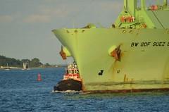 Liberty (jelpics) Tags: liberty tug tugboats bwgdfsuezboston merchantship lng lngtanker tanker boat boston bostonharbor bostonma harbor massachusetts ocean port sea ship vessel