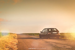 Citroen Saxo VTS (Luky Rych) Tags: citroen saxo vts automotive car sunset road worldcars