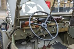 XPRO1683-1 (Lawrence Holmes.) Tags: uk usa fashion army uniform fuji jeep 1940 retro unionjack reenactment willis gi westyorkshire brighouse 27mm xpro1 lawrenceholmes