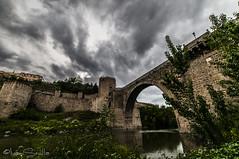 Toledo (Diapo.2007) Tags: lana de puente toledo nocturna acero abandonado polan nikond300 isrpoti