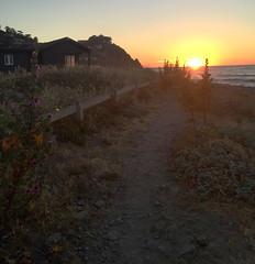 Saturday sunset, Linda Mar beach (Katy German) Tags: sunset saturday saturdaysunset lindamar lindamarbeach lindamarstatebeach pacifica pacificocean highway1 highwayone pch beach