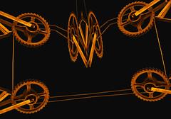 Perpetuum mobile (elmar theurer) Tags: art mobile kunst technik escher zahnrad perspektive maschine perpetuum perpetuummobile escheresk