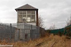 Rosyth Dockyard Signal Box (Daniel Tetstall) Tags: building abandoned out ship box military navy royal rusty rail railway signals forth use network babcock signal railways derelict ports dockyard rosyth signalling oou of